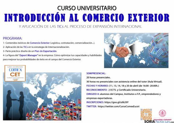 El cartel del curso. / UVa
