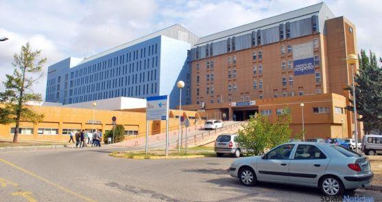 El hospital de Santa Bárbara en una imagen de archivo. / SN