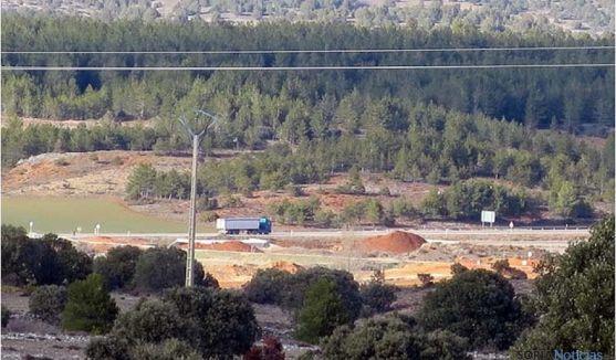 Terrenos previstos para la explotación, según ASDEN.