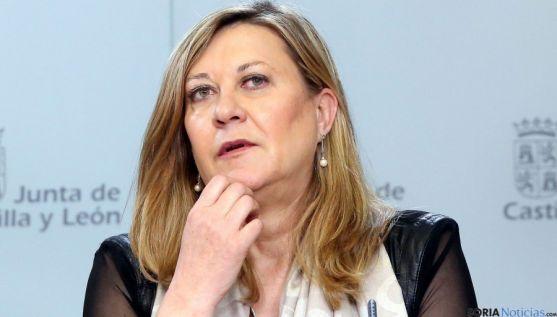 La consejera de Economía y Hacienda, Pilar del Olmo./SN