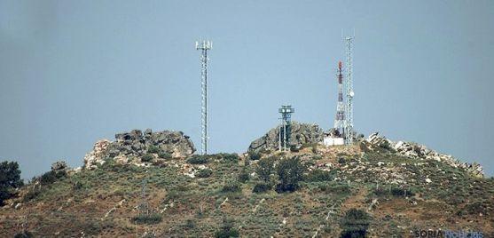 Antenas repetidoras de la señal de TDT. / SN