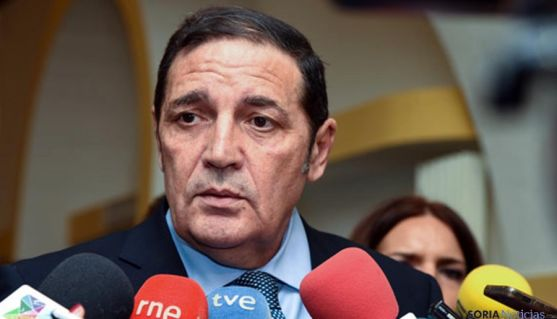 El consejero de Sanidad, Antonio Sáez-Aguado. / SN