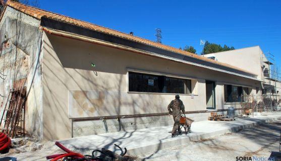 El remozado edificio del Soto Playa este miércoles. / SN