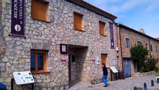 El centro de recepción de visitantes de Medinaceli. / SN