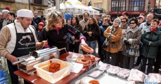 Puercoterapia Soria 2016, organizada por los carniceros sorianos