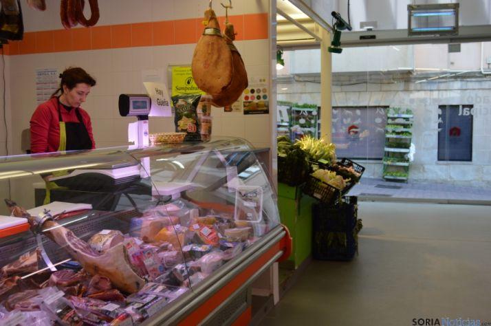Mercado municipal de Soria.