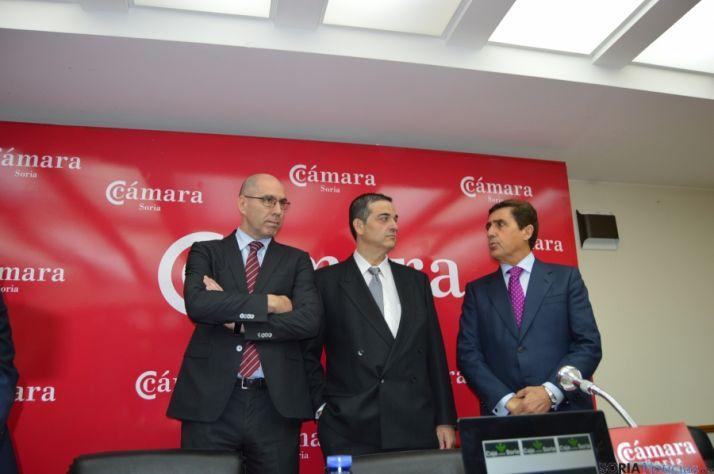 Martín Tobalina, en la Cámara de Comercio.
