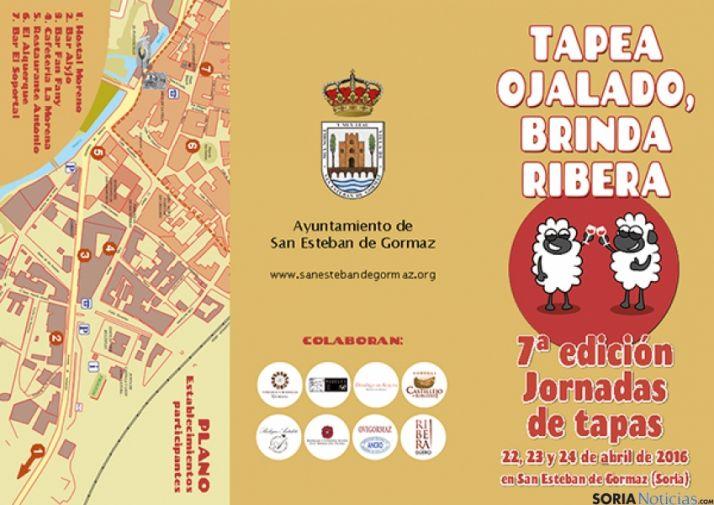 Cartel anunciador del evento gastronómico.