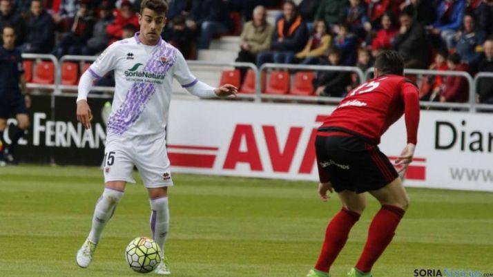 David Concha, autor del segundo gol numantino.