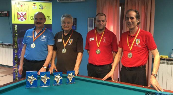 Camarero, Fdez., Molina y Hdez.