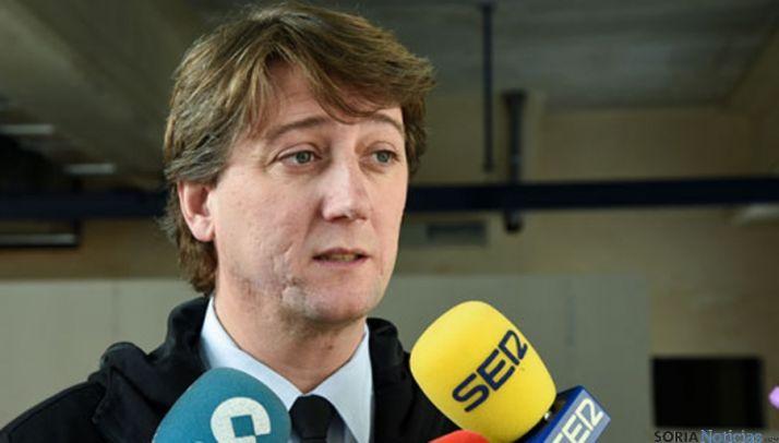 El alcalde de la ciudad, Carlos Martínez. / SN