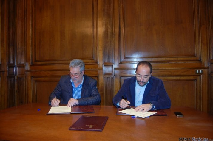 Carlos Heras y Luis Rey.