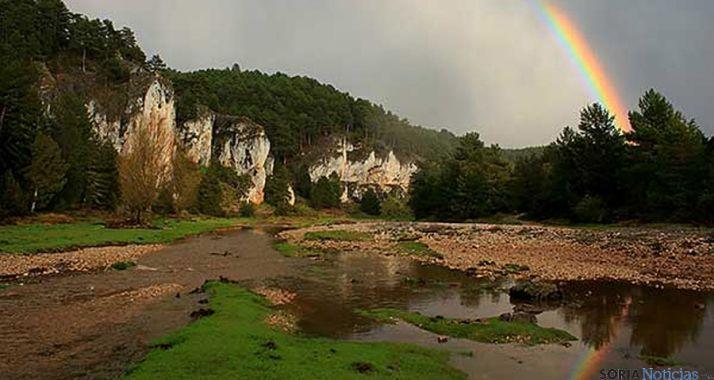 Una bella imagen del Cañón del Río Lobos. / SN