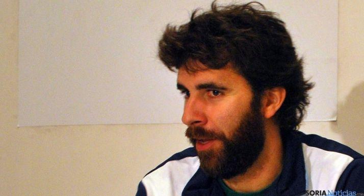 Sevillano en rueda de prensa./SN