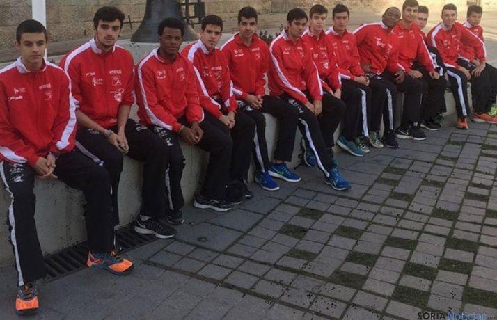 El equipo junior del Numantino.