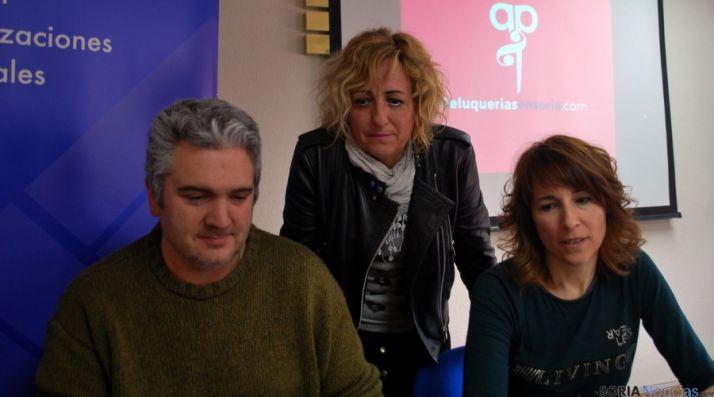 Sanz, (izda.), Bláquez y Colás. / SN