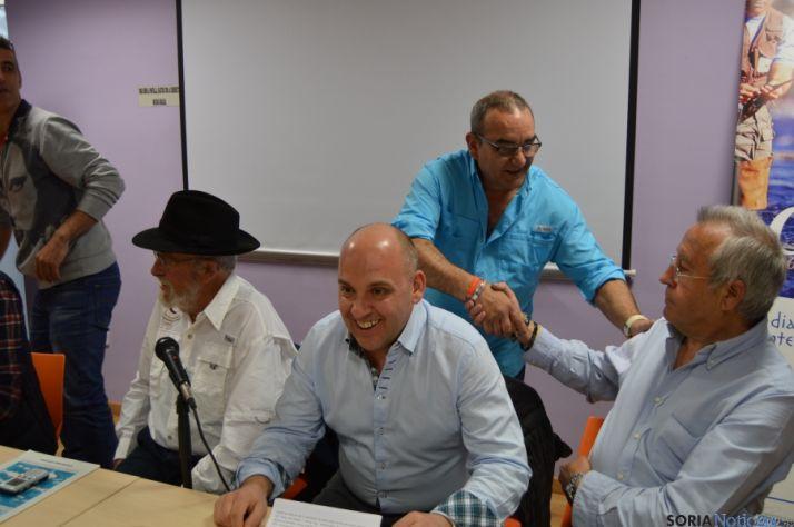 Foto 2 - El pregón del XIV Campano Soria une la pesca con la poesía y Machado