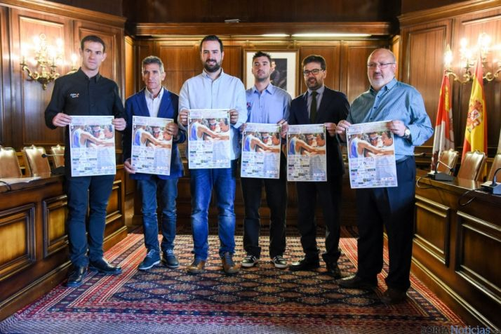 Presentación del Campeonato de España de duatlón. /Ana Isla