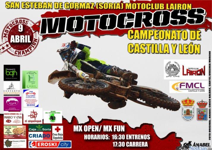 Foto 1 - Primera carrera de motocross del Campeonato de Castilla y León en San Esteban