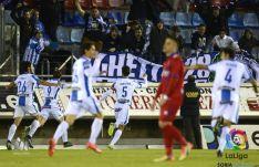 El Leganés ganó en Los Pajaritos por dos goles a uno.