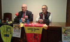 José Ramón Huerta y Alfredo Cordóva, en la presentación del campeonato.
