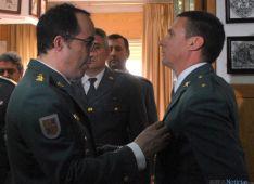 Acto institucional de la Benemérita en Soria este jueves./SN