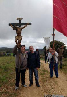 Imagen de la romería este sábado./SN