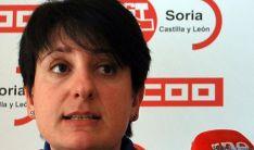 Ana Romero, secretaria general de CC OO en Soria. / SN