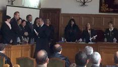 Imagen del acto en la Audiencia Provincial./SN