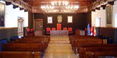 Salón plenario del consistorio burgense.