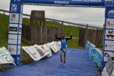 Foto 6 - Peñuela, Lazo y Alba, podium masculino del Campeonato de Duatlon celebrado en Garray