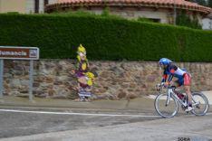 Foto 4 - Peñuela, Lazo y Alba, podium masculino del Campeonato de Duatlon celebrado en Garray