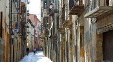 Una calle del casco histórico./SN