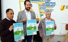 Martín (izda.), Hernández y Sánchez en la presentación de la jornada. / Ayto.