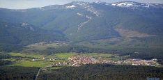 Vista de Duruelo y la sierra de Urbión. / SN