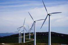 Un parque eólico en la provincia./SN