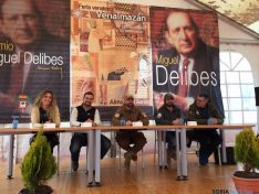 Comité de expertos de Escuadrone reunido en la Feria Venalmazán 2016