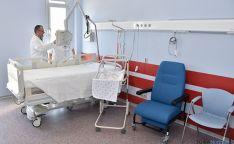 Una de las habitaciones del hospital de Santa Bárbara. / SN