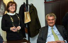 Jesús Posada y Marimar Angulo./SN