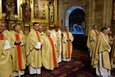La celebración en la concatedral.