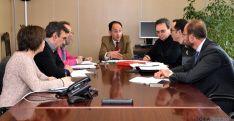 Reunión del Comité Territorial de Seguridad este miércoles. / Jta.