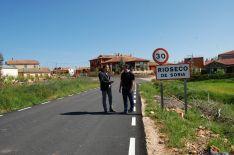 Diputación ultima la mejora de las carreteras a Valdenebro y a Rioseco
