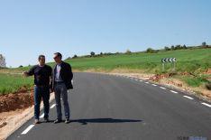 Foto 2 - Diputación ultima la mejora de las carreteras a Valdenebro y a Rioseco
