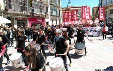 Imagen de la manifestación del 1 de Mayo en la capital. / SN