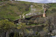 Imagen de un tramo de la muralla./SN