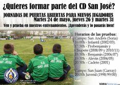 Las pruebas, en el San Andrés y en Garray.