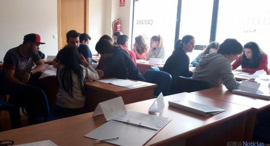 Los alumnos en el curso formativo./CCIS
