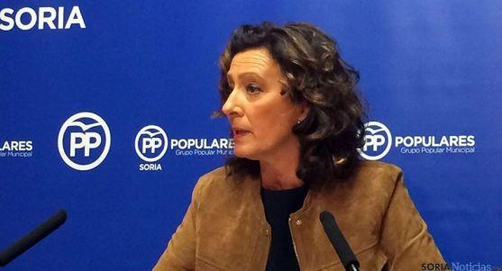 La concejal del PP, María Pérez.