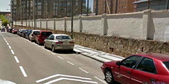 El muro donde se pegarán los carteles./GM