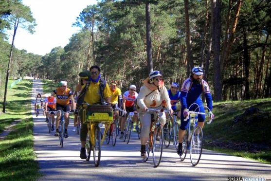 La Histórica pasa por caminos no asfaltados, rememorando 'viejos' tiempos